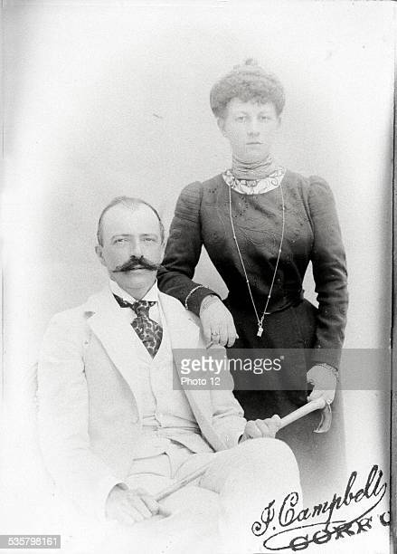 Grand Duke George Mikhailovich and Grand Duchess Maria of Russie Married on Corfu in May 1900