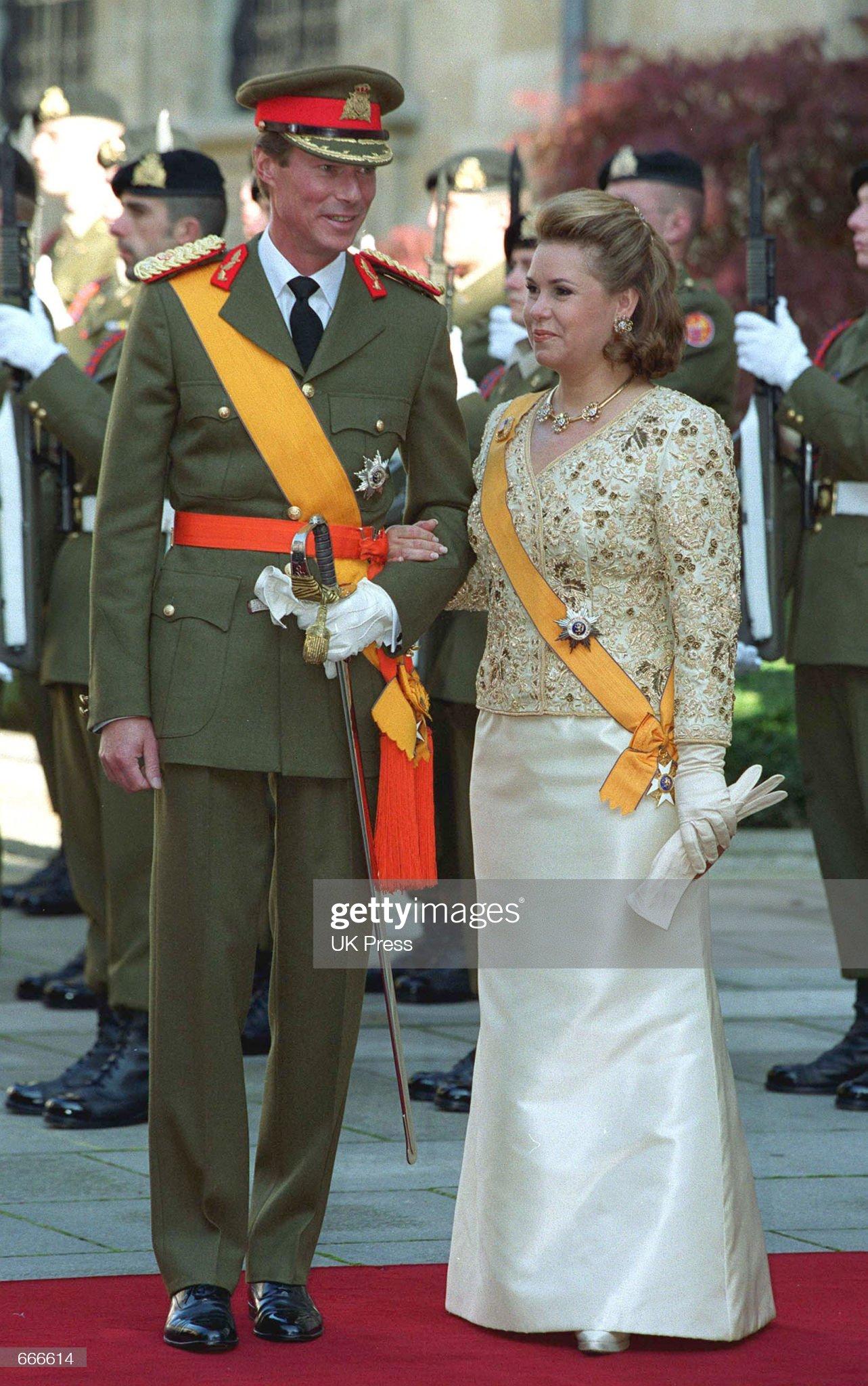 Grand Duke Henri of Luxembourg Sworn In : News Photo