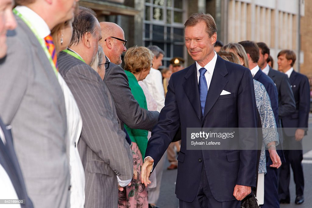 Grand Duke Henri of Luxembourg celebrates National Day on June 21, 2016 in Luxembourg, Luxembourg.