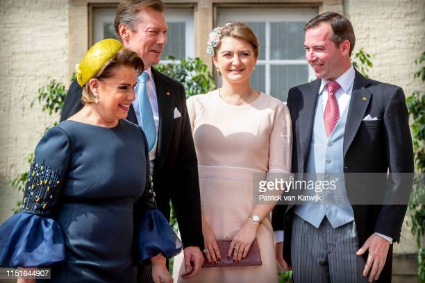Grand Duke Henri of Luxembourg Grand Duchess Maria Teresa of Luxembourg Hereditary Grand Duke Guillaume of Luxembourg Hereditary Grand Duchess...