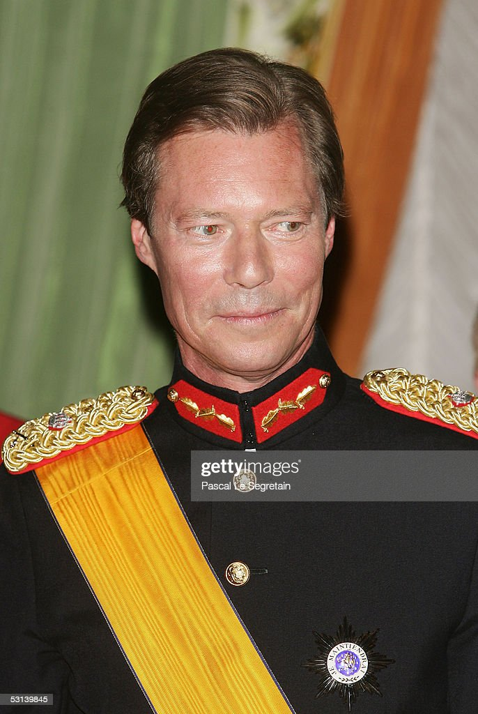 Grand Duke Henri of Luxembourg poses during a dinner at the Grand Ducal Palace as part of National Day celebrations June 23, 2005 in Luxembourg.