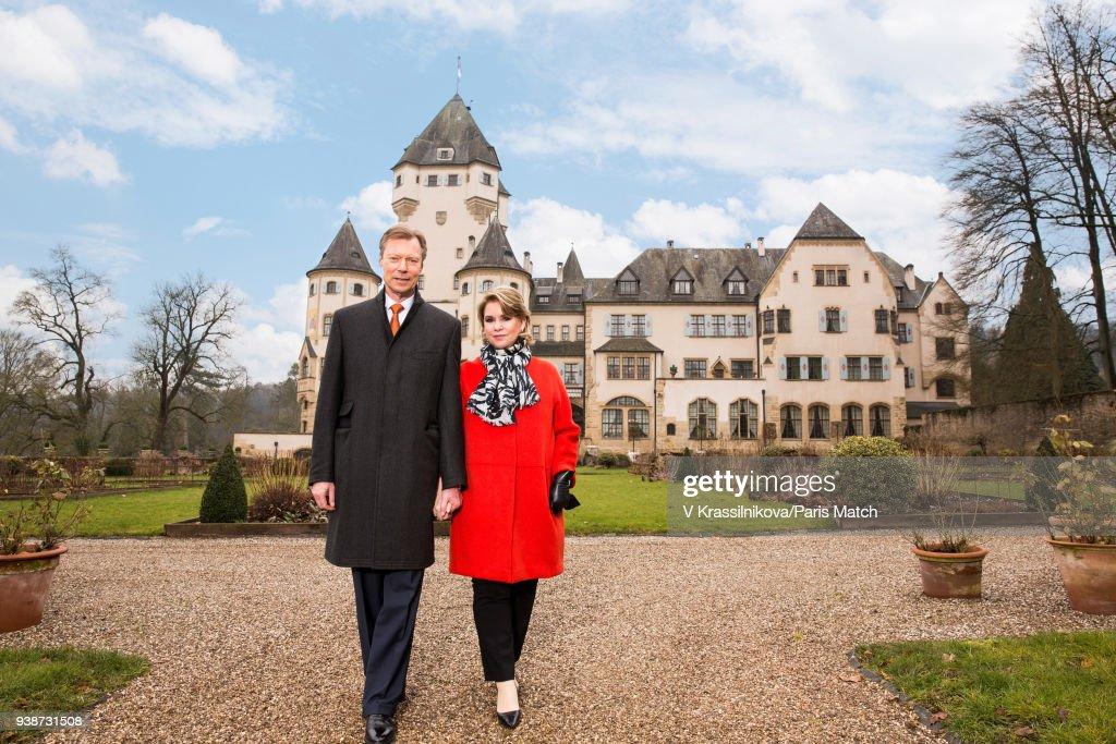 Grand Duke Henri of Luxembourg, Paris Match Issue 3592, March 21, 2018 : News Photo