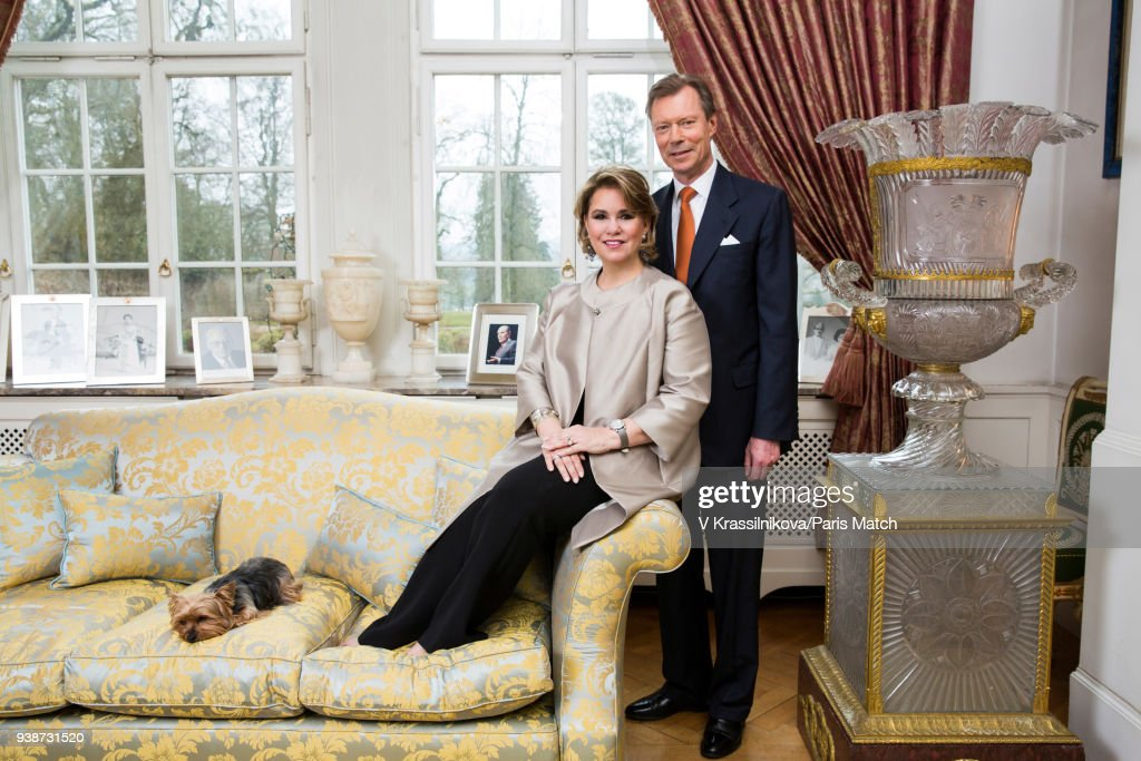 Grand Duke Henri of Luxembourg, Paris Match Issue 3592, March 21, 2018
