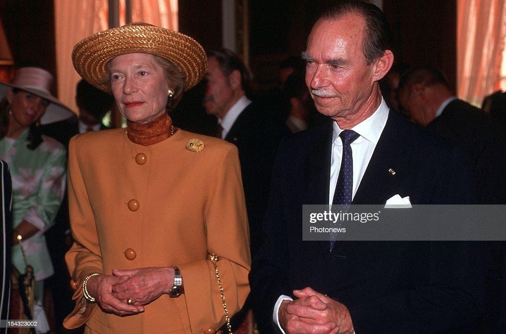 Grand Duke Jean of Luxembourg : News Photo