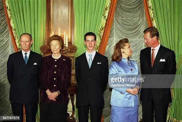 Grand Duke Jean Grand Duchess Jos{phine Charlotte Grand Duke Guillaume Grand Duchess Maria Teresa Grand Duke Henri