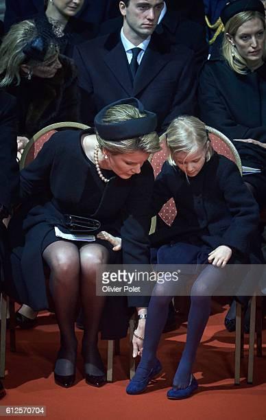 Grand Duke Jean of Luxembourg Grand Duchess Maria Teresa of Luxembourg Grand Duke Henri of Luxembourg Queen Paola of Belgium King Albert II of...