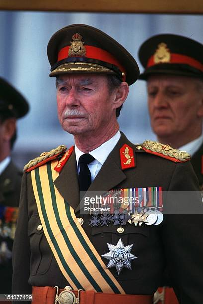 Grand Duke Jean of Luxembourg on national day.