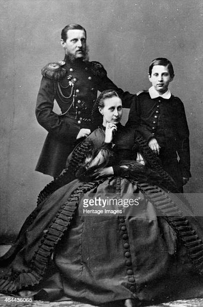 Grand Duke Konstantin Nikolayevich of Russia with his wife and one of their sons 1860 Grand Duke Konstantin was the second son of Tsar Nicholas I and...