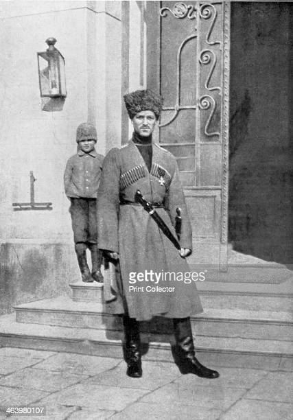 Grand Duke Michael Alexandrovich of Russia in cossack uniform 1917 Tsar Nicholas II abdicated in favour of his brother Michael Both were assassinated...