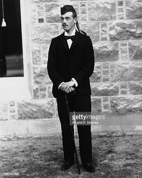 Grand Duke Michael Alexandrovich of Russia outside Marlborough House London 1899 He is the younger brother of Nicholas II of Russia