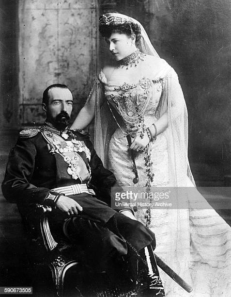 Grand Duke Michael Mikhailovich of Russia and his wife Countess Sophie of Merenberg Countess de Torbay