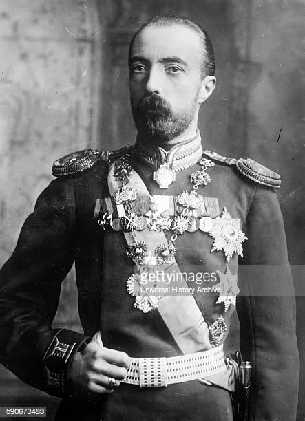 Grand Duke Michael Mikhailovich of Russia was a son of Grand Duke Michael Nikolayevich of Russia and a grandson of Tsar Nicholas I of Russia 1910