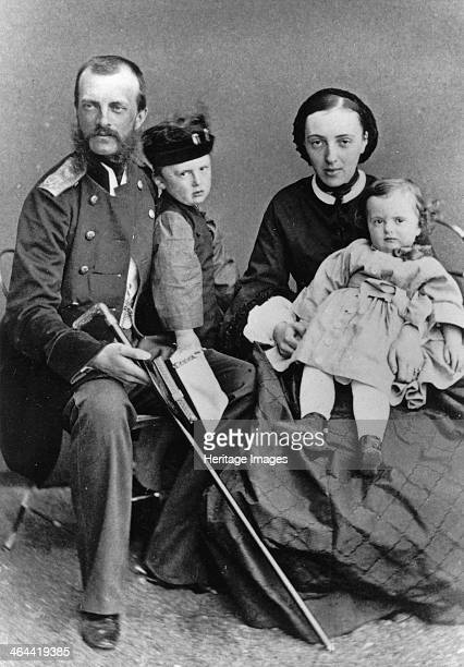 Grand Duke Michael Nikolaevich of Russia and his family c1862c1863 Grand Duke Michael was the fourth son of Tsar Alexander I and Charlotte of Prussia...