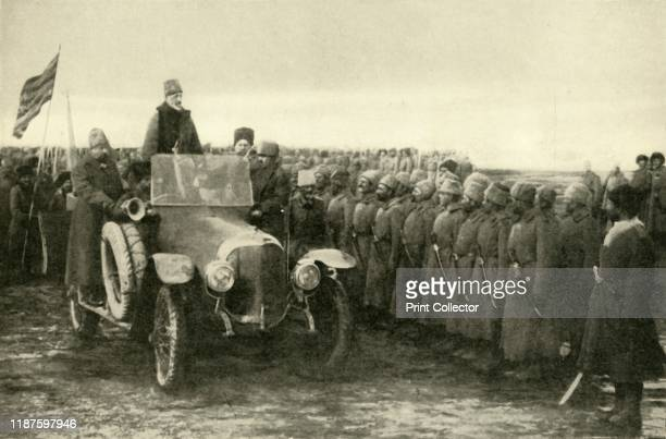 Grand Duke Nikolai congratulates Russian troops after the capture of Erzerum Turkey First World War 'Before the Bolshevist Reign of Terror the...