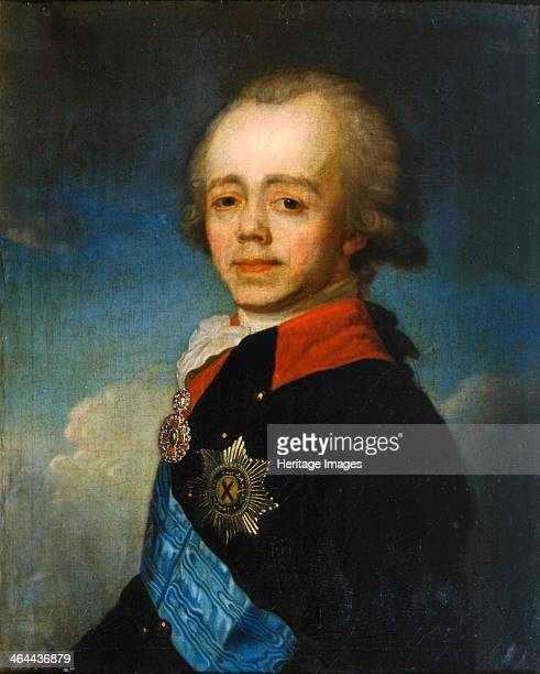 Grand Duke Pavel Petrovich of Russia late 18th century Paul I became Emperor of Russia in 1796 He was determined to turn the Russian nobility which...