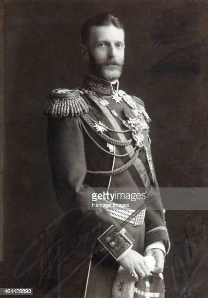 Grand Duke Sergei Alexandrovich of Russia, late 19th or early 20th century. Sergei Alexandrovich was the fifth son of Tsar Alexander II. He was an...