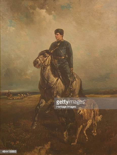 Grand Duke Vladimir Alexandrovich of Russia On The Hunt 1890s From a private collection