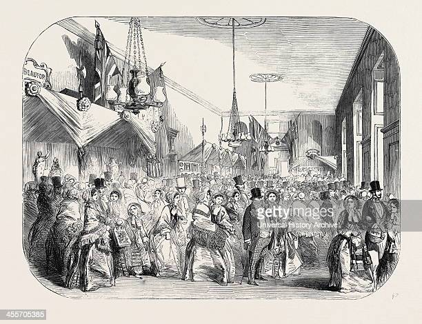 Grand Fancy Bazaar In Greenwich Hospital, In Aid Of The Queen Adelaide Naval Fund, 1852.