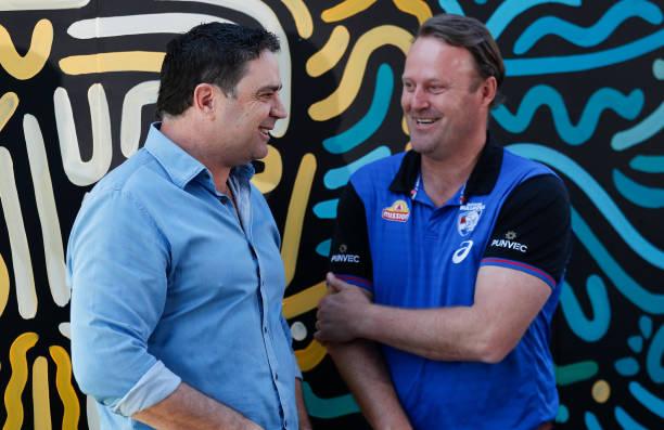 AUS: 2021 AFL Grand Final Premiership Cup Presenters