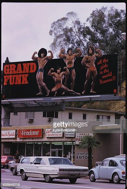 Grand Funk Railroad Billboard