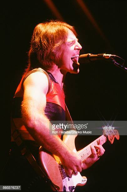Grand Funk Railroad Mark Farner live at Nippon Budokan, Tokyo, September 6, 1982.