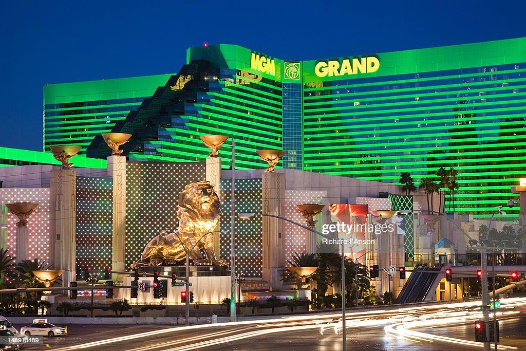 MGM Grand Hotel and Casino. : ストックフォト