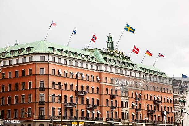 グランド・ホテルストックホルムスウェーデン - ストックホルム グランドホテル ストックフォトと画像