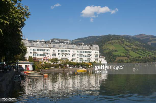 Grand Hotel on Zell an See lake