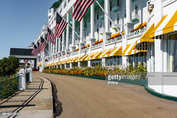 grand hotel - mackinac island stock pictures, royalty-free photos & images