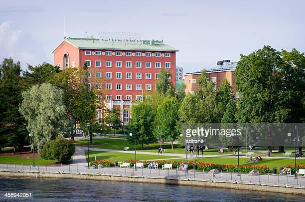 グランドホテル tammer タンペレフィンランド - タンペレ ストックフォトと画像