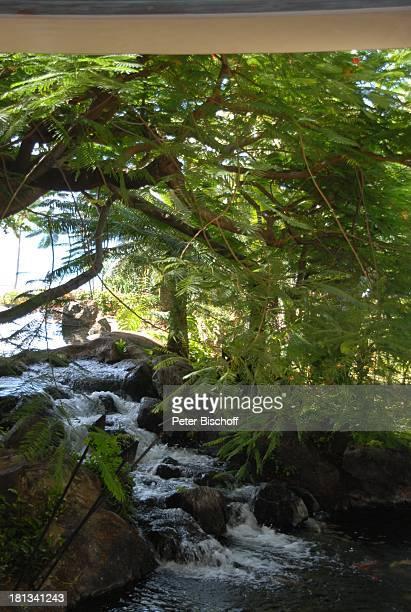 Grand Hyatt-Hotel, Kauai, Hawaiian Island, Insel, Süd-Pazifik, Poipu-Beach, Meer, Ausblick, Wasser, Fluss, Wasserfall, Natur, Reise, TP, DIG;P-Nr.:...