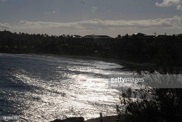 Grand Hyatt-Hotel, Kauai, Hawaiian Island, Insel, Süd-Pazifik, Poipu-Beach, Meer, Wasser, Reflektion, Ausblick, Wellen, Küste, Natur, Reise, TP,...