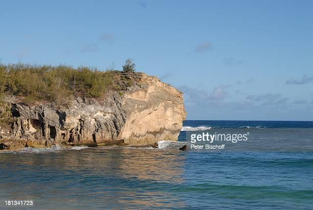 Grand Hyatt-Hotel, Kauai, Hawaiian Island, Insel, Süd-Pazifik, Poipu-Beach, Meer, Wasser, Küste, Felsküste, Fels, Stein, Steilküste, Brandung,...