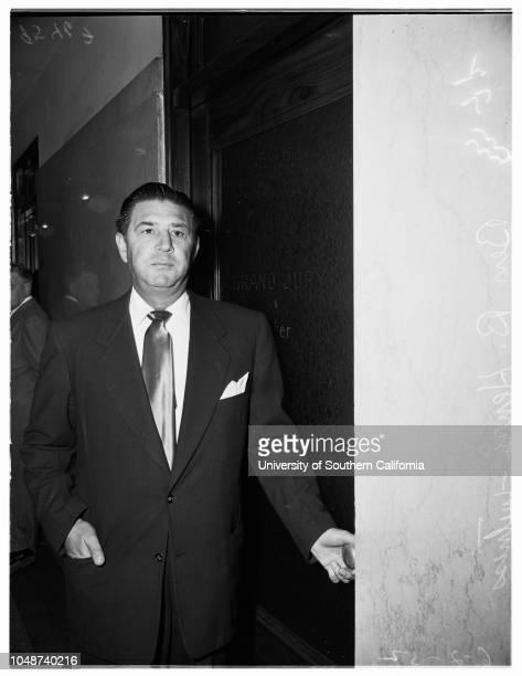 Grand Jury hearing Burbank 2 June 1952 Ben B Henry Burbank Los Angeles California USA