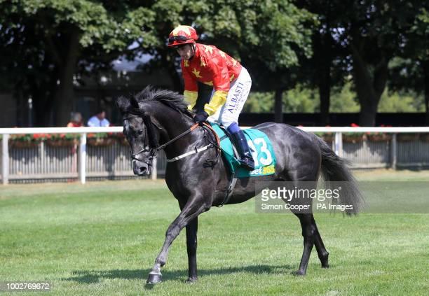 Grand Koonta ridden by Oisin Murphy goes to post