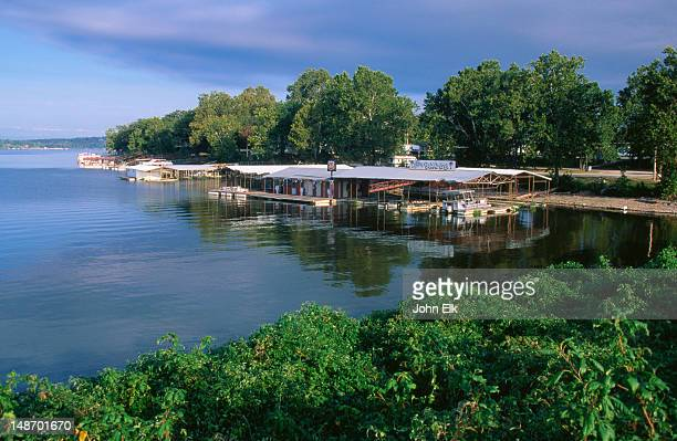 grand lake of the cherokees. - cherokee culture stock pictures, royalty-free photos & images