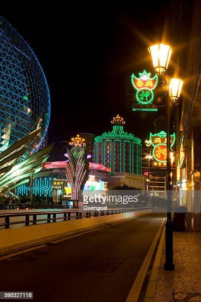 Grand Lisboa and Casino Lisboa in Macau