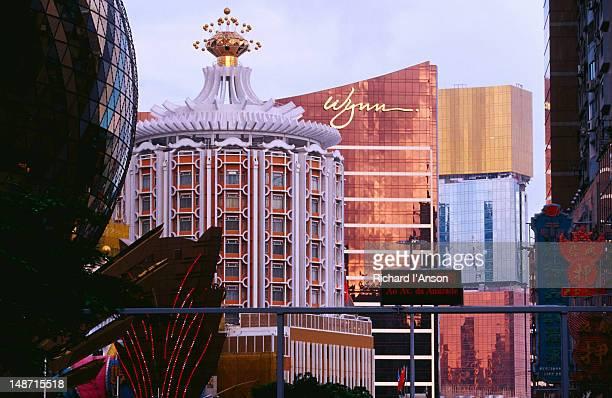 Grand Lisboa, Lisboa and Wynn Casinos.