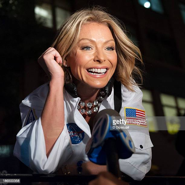 Grand marshal Kelly Ripa participates in the New York City 40th Annual Village Halloween parade on October 31, 2013 in New York City.