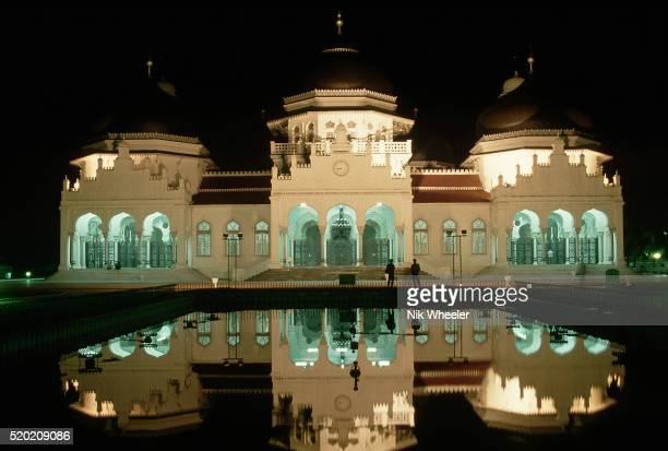 Grand Mosque and Reflection