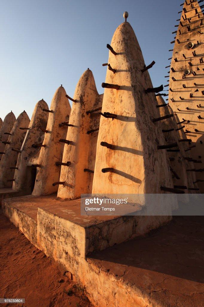 Grand Mosque, Burkina Faso : Stock-Foto