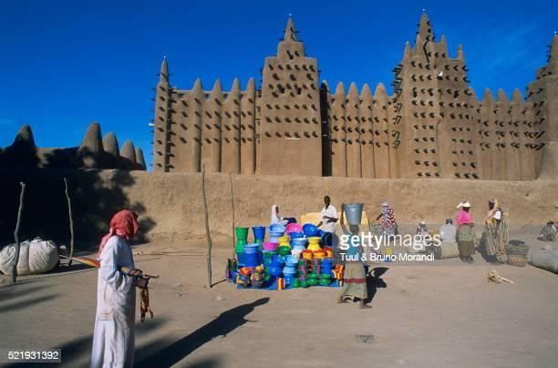 Grand mosque in Djenne, Mali