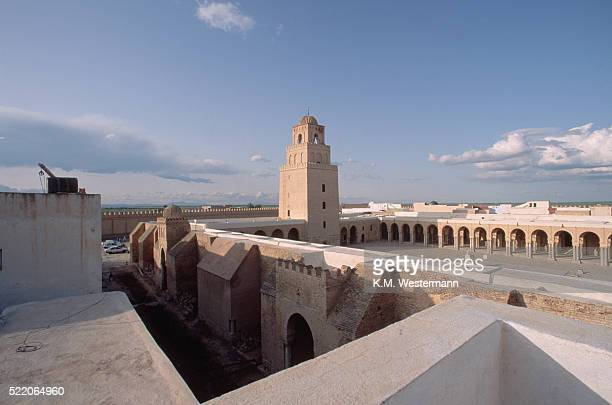 grand mosque, tunisia - kairwan stock pictures, royalty-free photos & images
