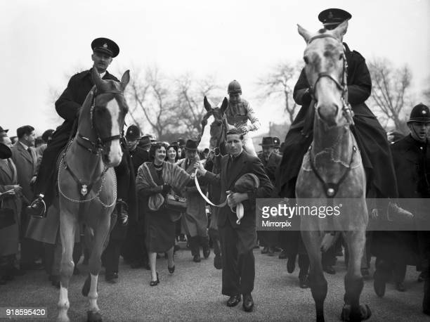 Grand National 1954 Aintree Liverpool Saturday 27th March 1954