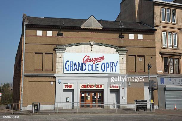grand ole opry, glasgow - theasis foto e immagini stock