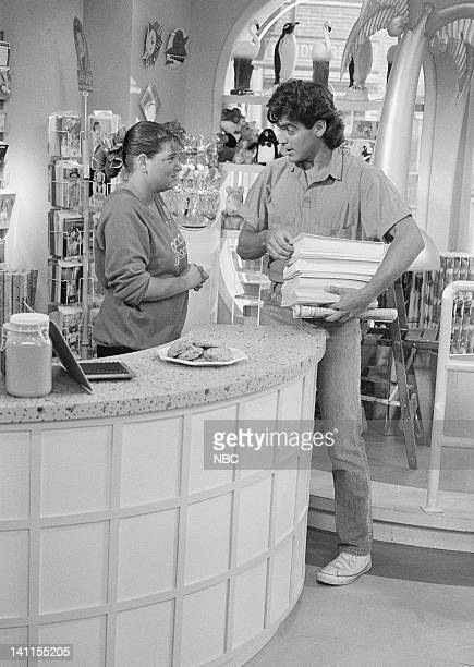 LIFE 'Grand Opening' Episode 3 Aired Pictured Mindy Cohn as Natalie Letisha Sage Green George Clooney as George Burnett Photo by Paul Drinkwater/NBCU...