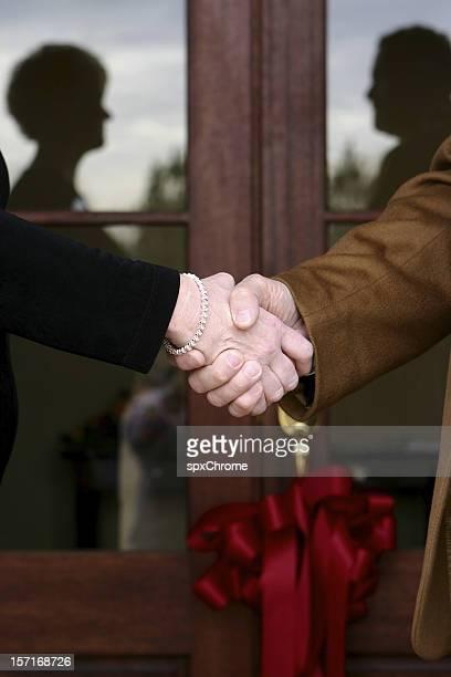 Grand Opening - Handshake
