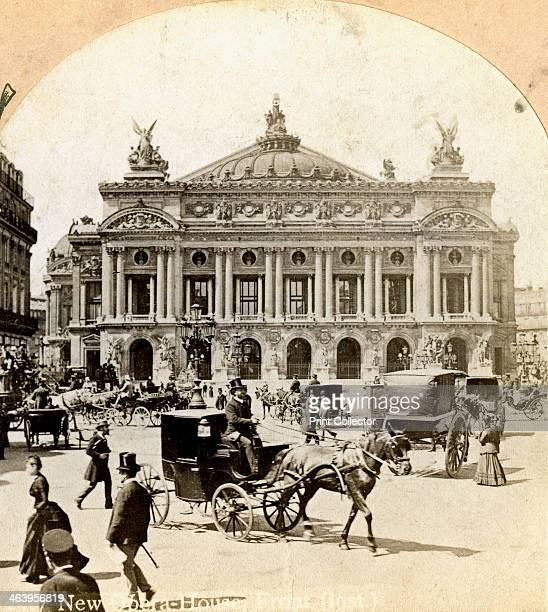 Grand Opera House Paris 19th century The Opera was designed in NeoBaroque style by Charles Garnier and built between 1861 and 1874 as part of Baron...