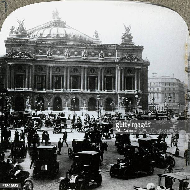 Grand Opera House Paris c1900s The Opera was designed in NeoBaroque style by Charles Garnier and built between 1861 and 1874 as part of Baron...