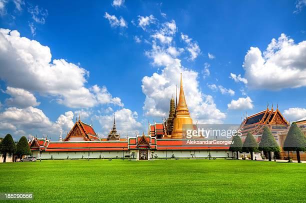 Der Große Palast in Bangkok und Wat Phra Kaew-Tempel